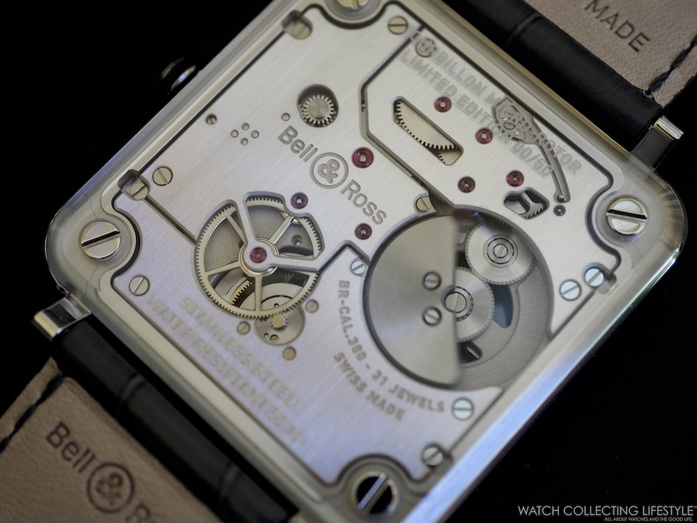 Bell and Ross BR-X2 Tourbillon Micro Rotor Movement