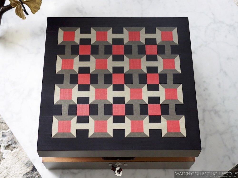 Hermès Pavage Watch Box WCL