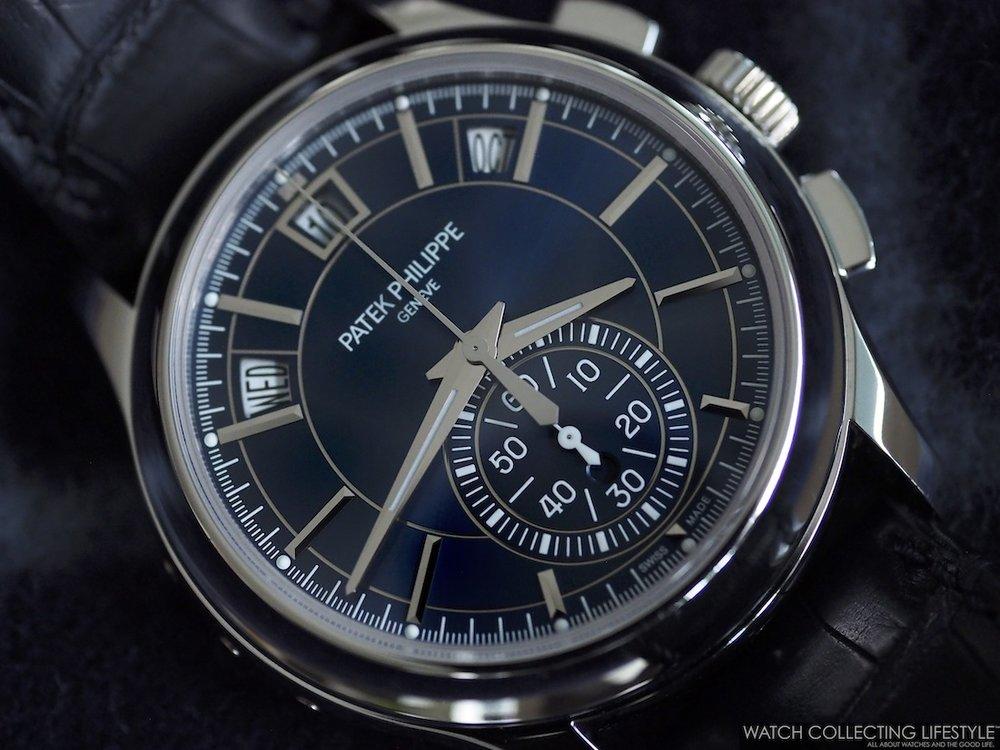 Patek Philippe ref. 5905P Blue Dial