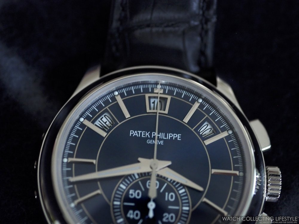 Patek Philippe Annual Calendar Chronograph ref. 5905P Dial