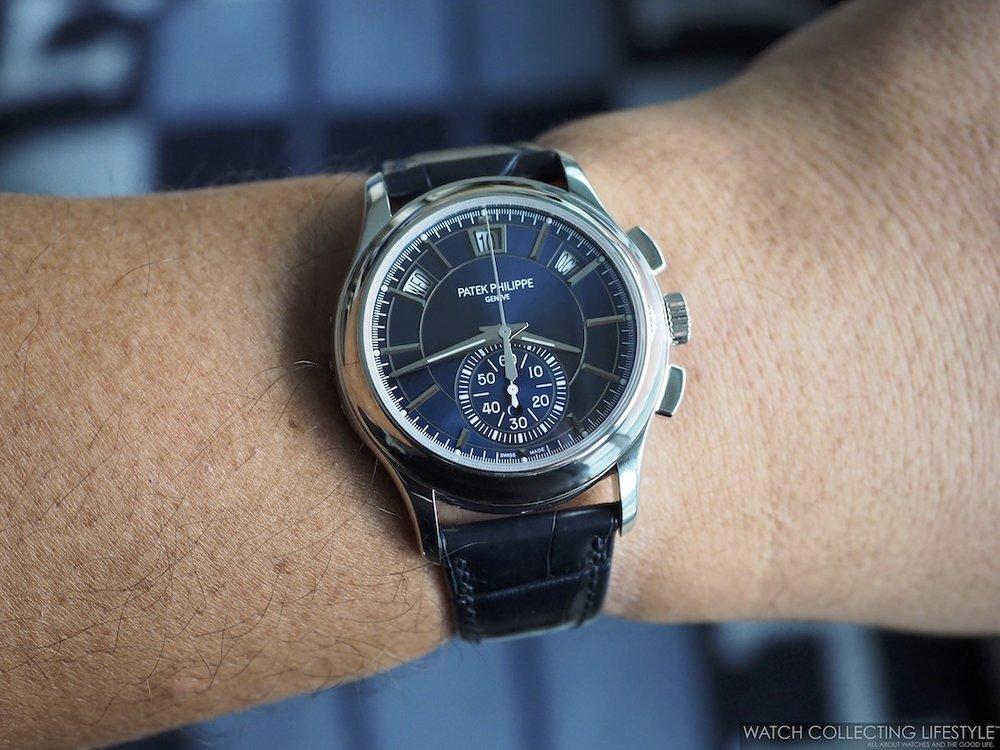 Patek Philippe ref. 5905P Wristshot WCL