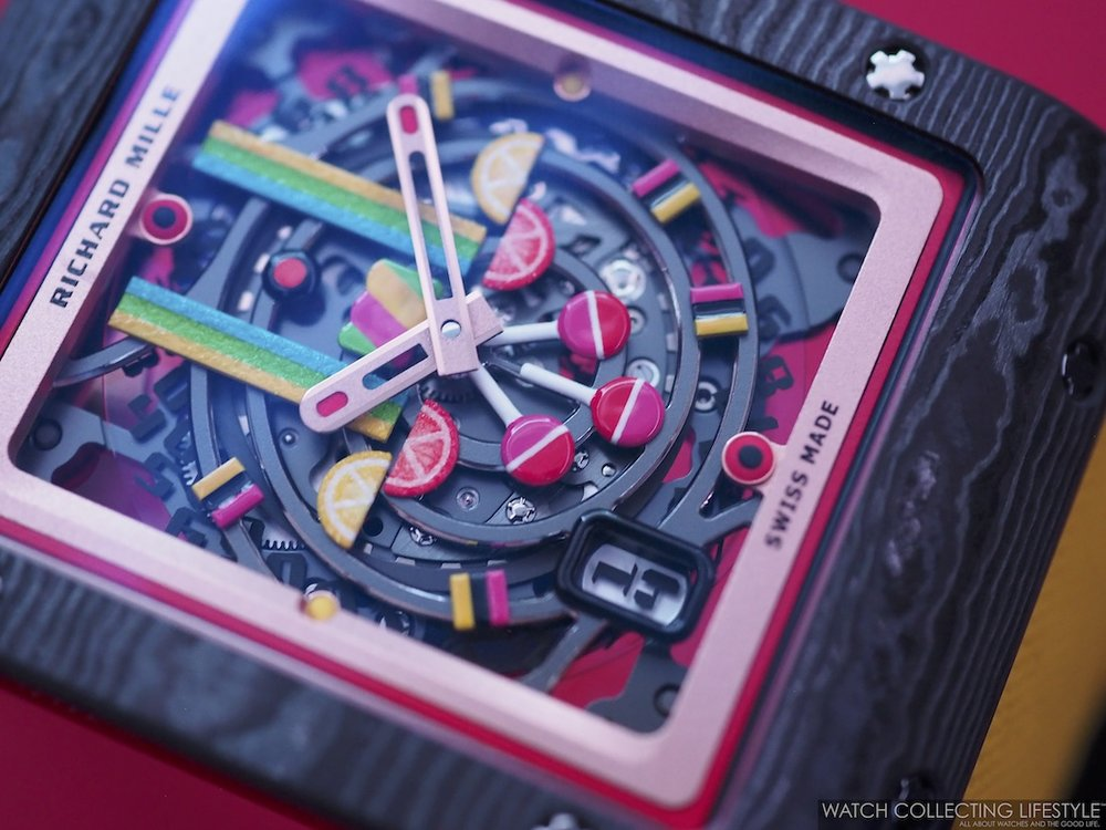 Sihh 2019 Richard Mille Bonbon Collection Live Pictures Pricing