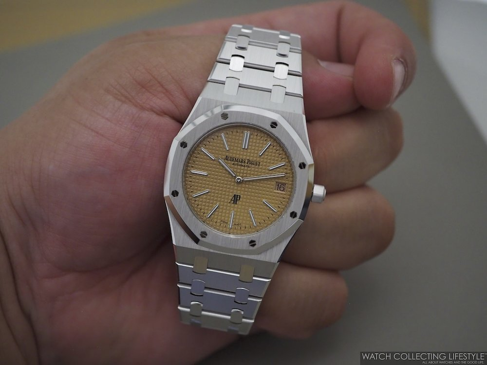 Audemars Piguet Royal Oak Extra-Thin White Gold ref. 15202BC On Hand WCL