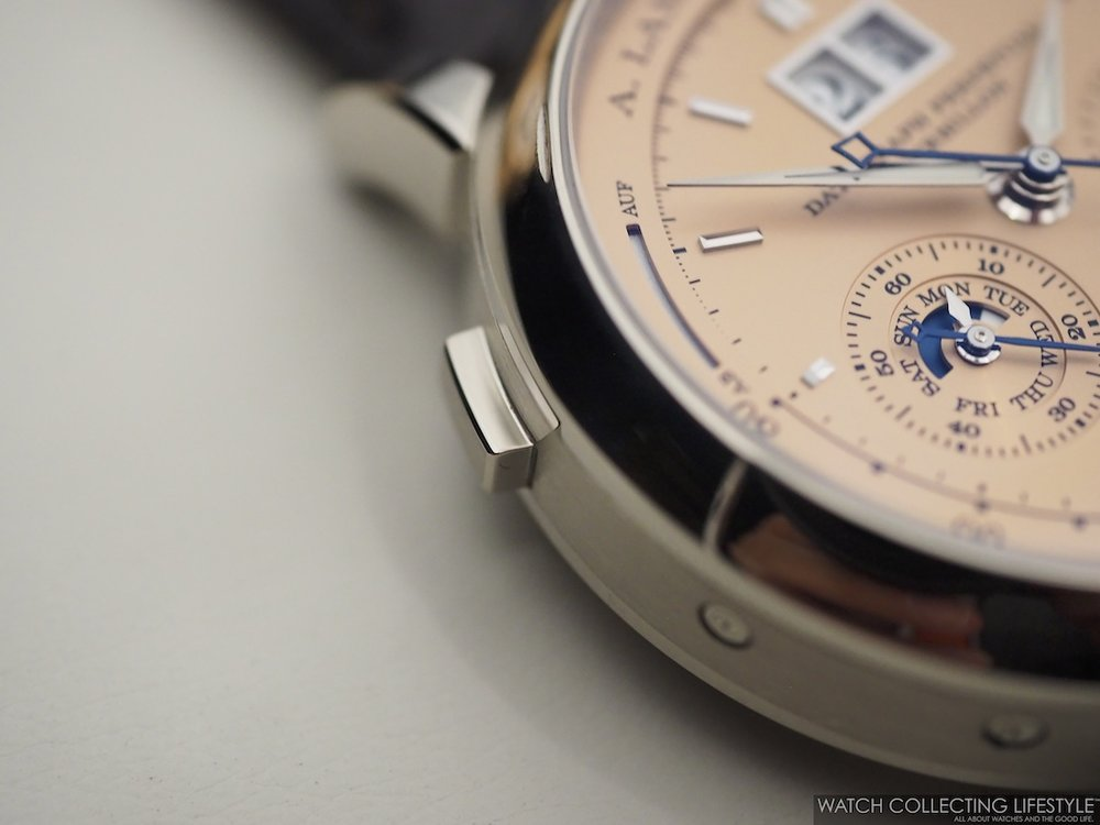 A. Lange & Söhne Datograph Perpetual Tourbillon Solid Pink Gold Dial Macro WCL