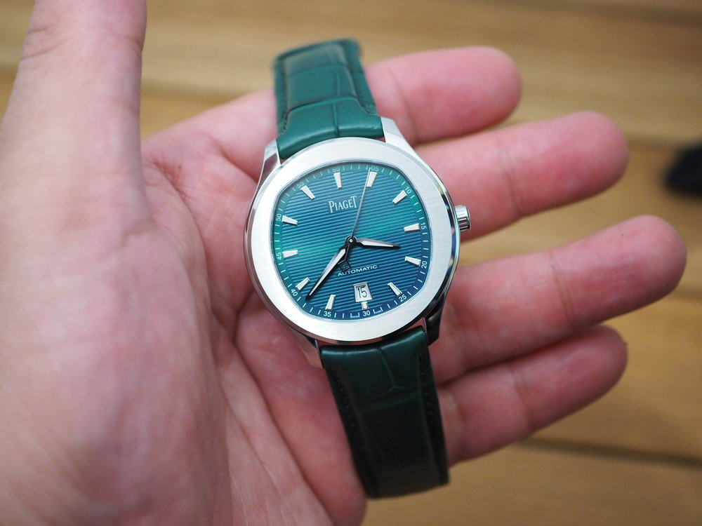 Piaget Polo S Green Bluish Dial on Hand WCL