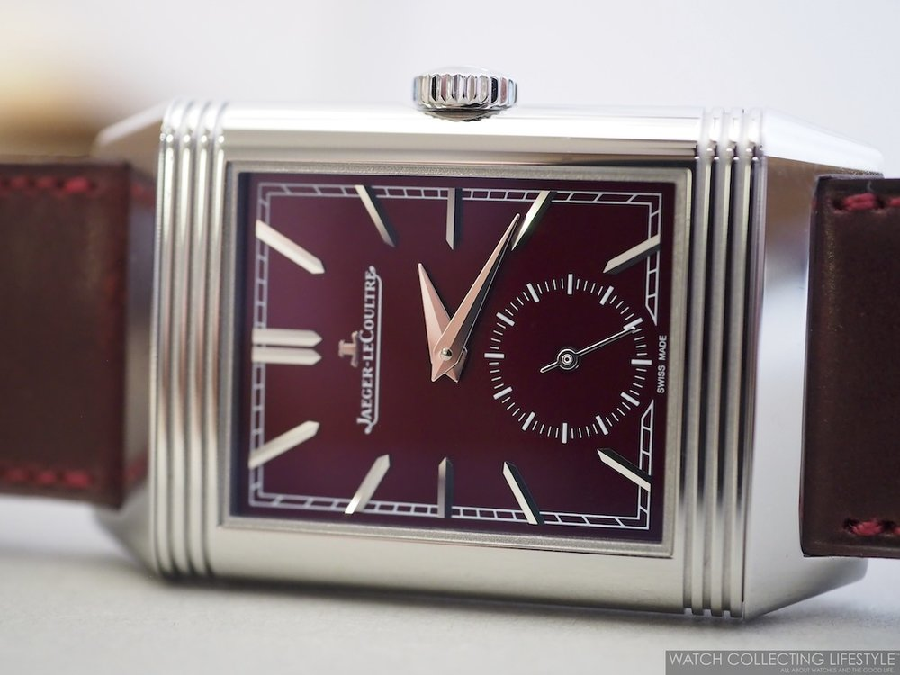 Jaeger-LeCoultre Reverso Casa Fagliano Red Wine Dial WCL4