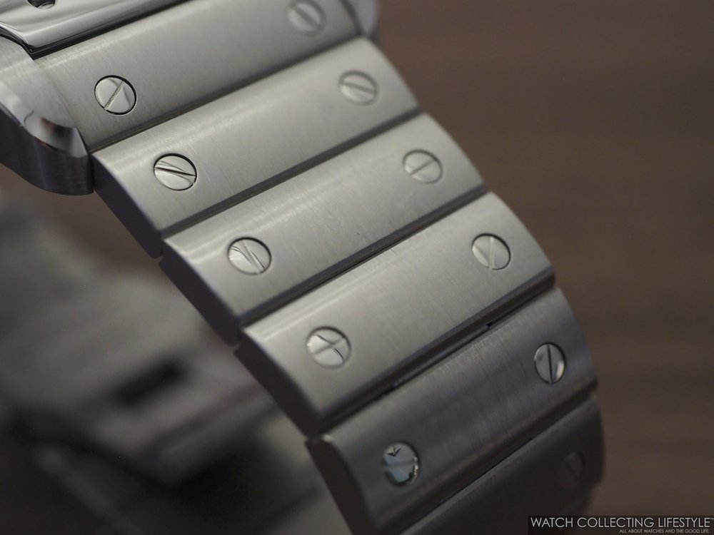 Santos de Cartier Stainless Steel Bracelet