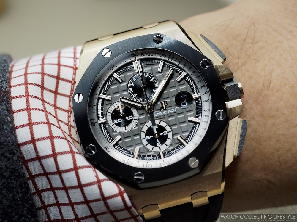 Audemars Piguet Royal Oak Offshore Chronograph 44 'Pride of Germany' Limited Edition ref. 26416RO Wristshot