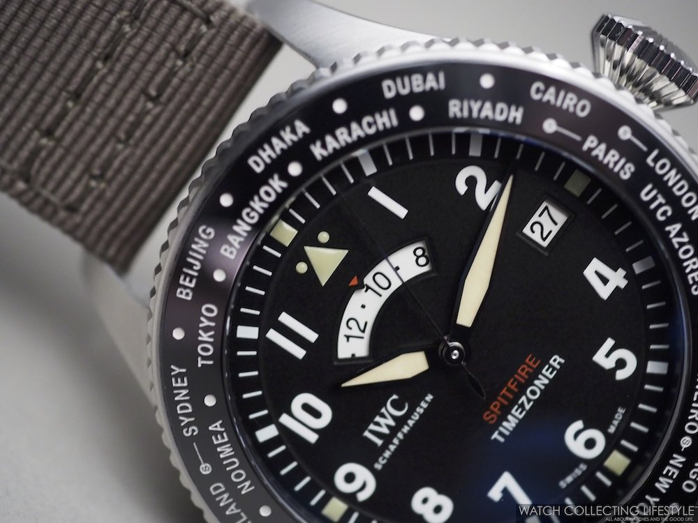 "IWC Pilot's Watch Timezoner Spitfire Edition ""The Longest Flight"" ref. IW395501"
