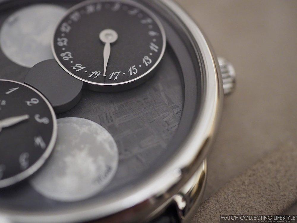 Hermès Arceau L'Heure De La Lune Meteorite