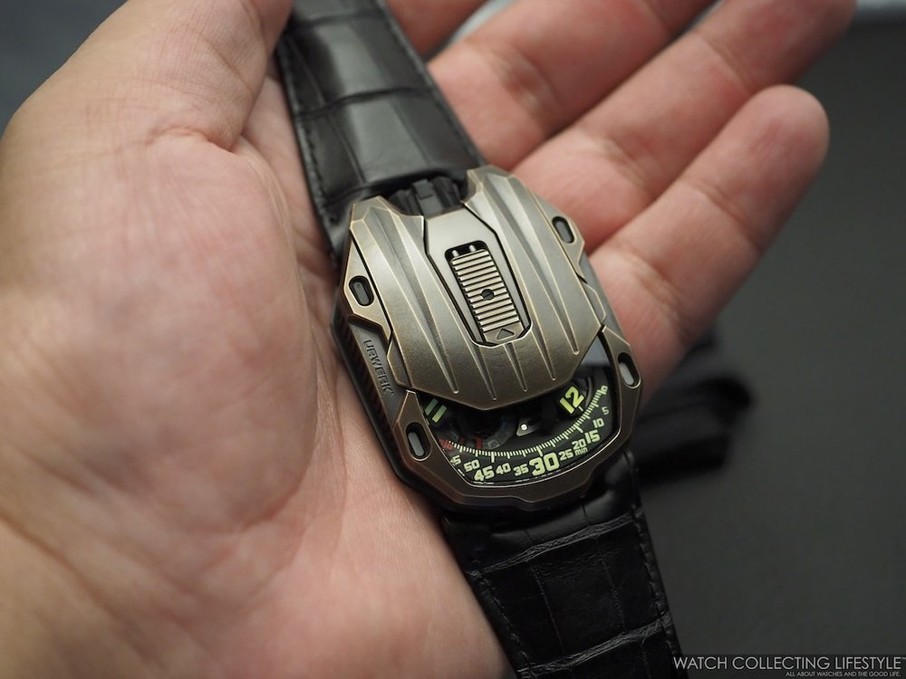 Urwerk UR-105 CT Maverick Hands-on