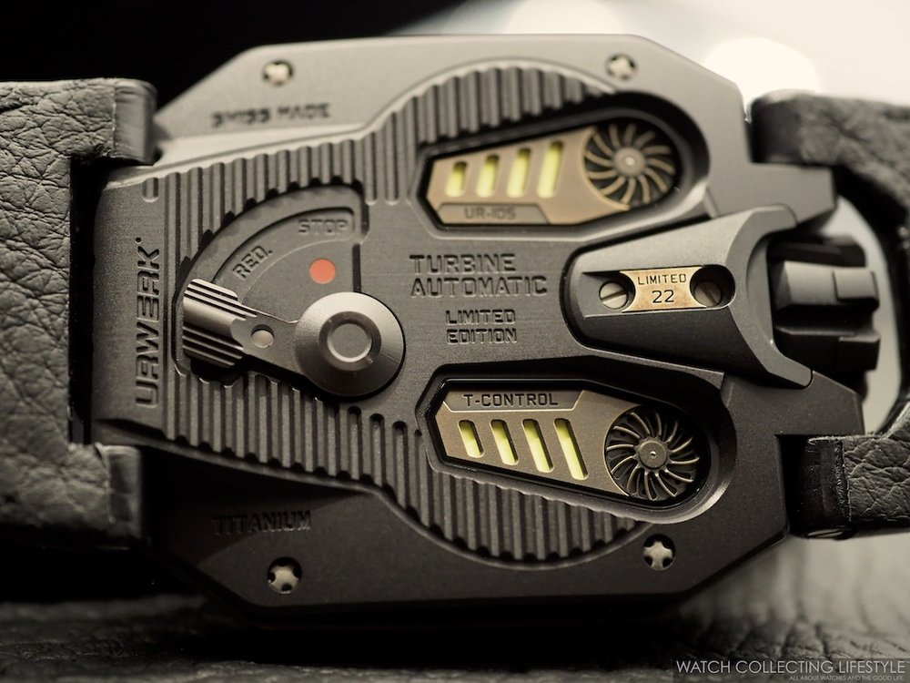 Urwerk UR-105 CT Maverick Case Back WCL
