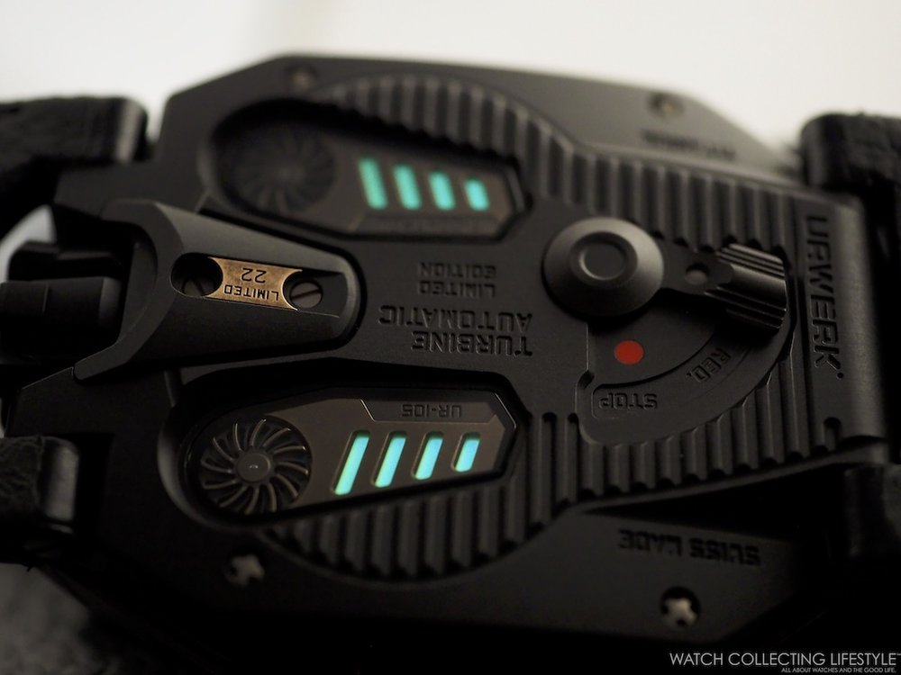 Urwerk UR-105 CT Maverick Luminova