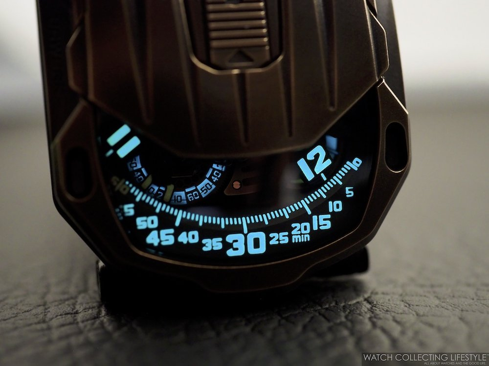 Urwerk UR-105 CT Maverick Lumeshot