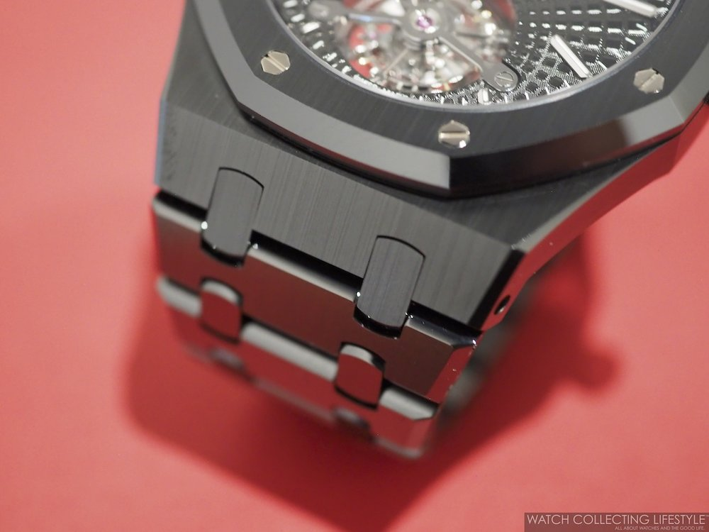 Audemars Piguet Royal Oak Tourbillon Extra-Thin Black Ceramic ref. 26522CE Bracelet