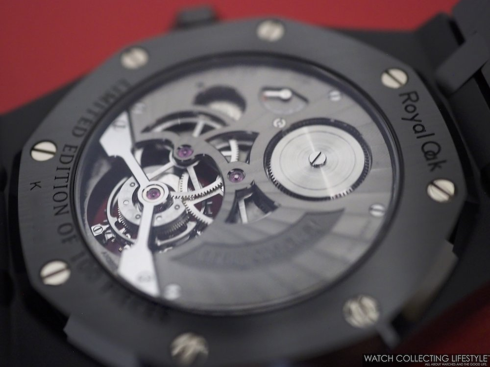 Audemars Piguet Royal Oak Tourbillon Extra-Thin Black Ceramic ref. 26522CE Movement