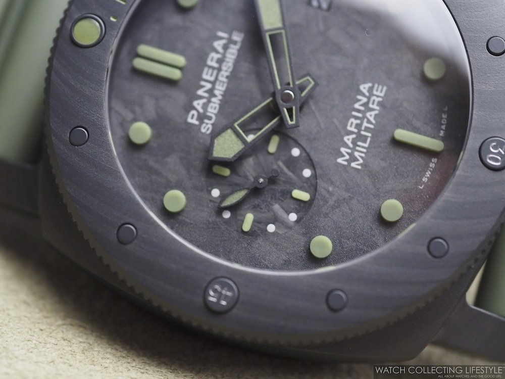 Panerai Submersible Marina Militare Carbotech Special Edition PAM961 WCL2