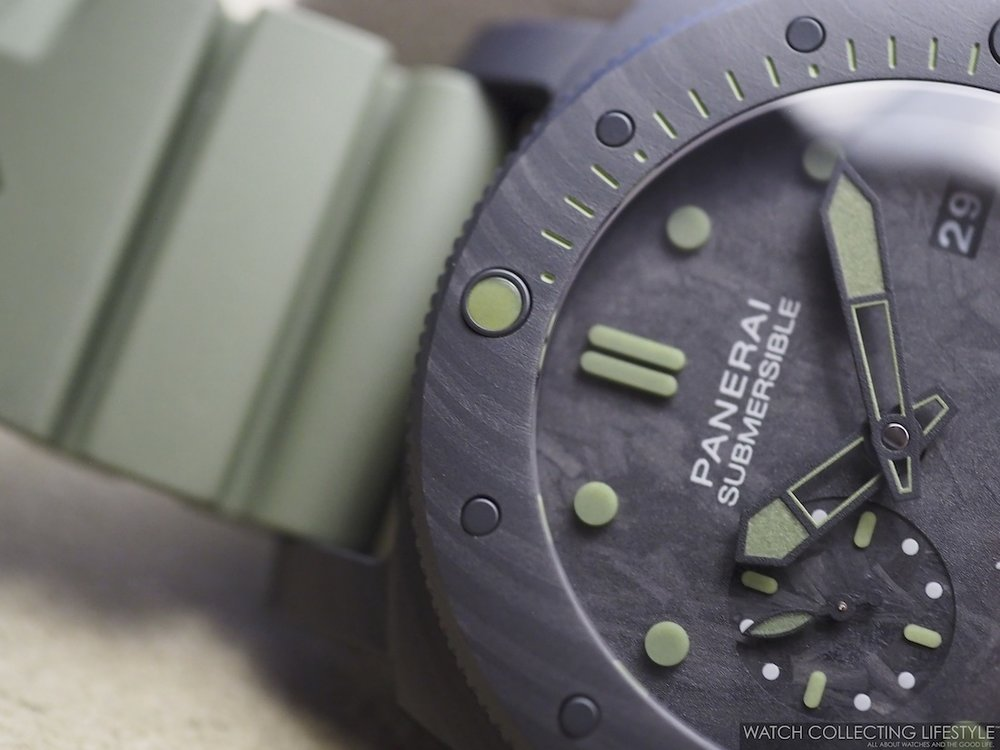 Panerai Submersible Marina Militare Carbotech Special Edition PAM961 WCL1