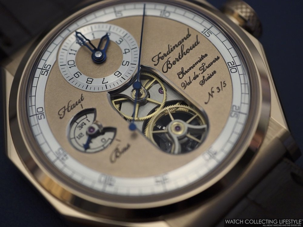Ferdinand Berthoud Chronomètre FB1.2-1 Oeuvre d'Or