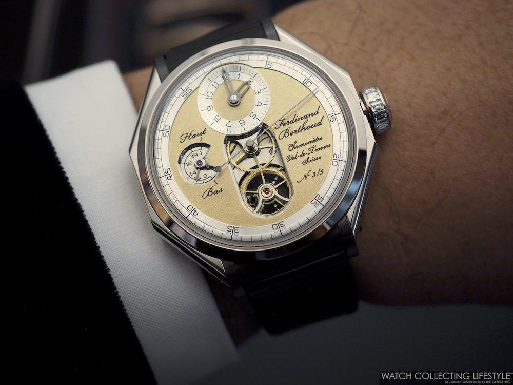 Ferdinand Berthoud Chronomètre FB1.1-2 'Oeuvre d'Or' Wristshot WCL