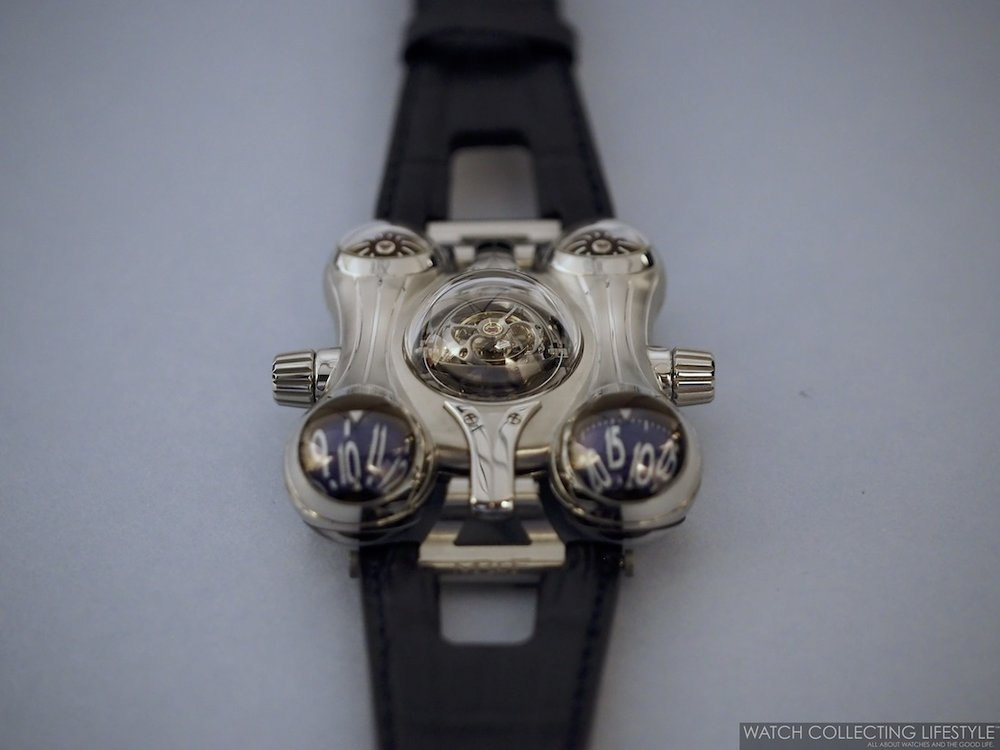 MB&F Horological Machine No. 6 Space Pirate Final Edition WCL