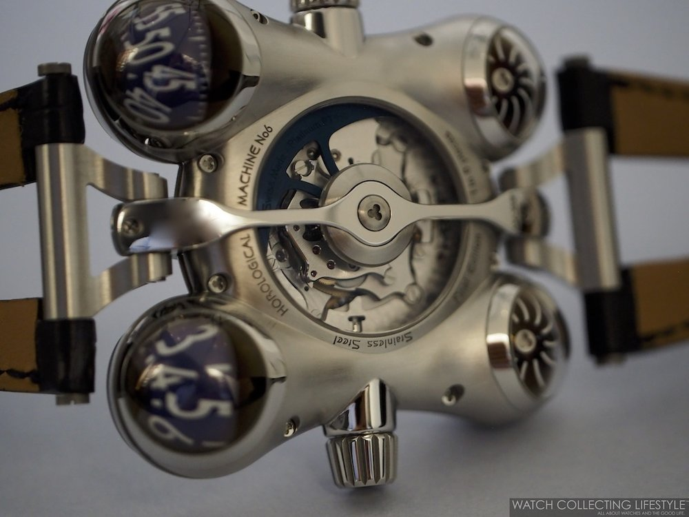 MB&F Horological Machine No. 6 Final Edition Case Back