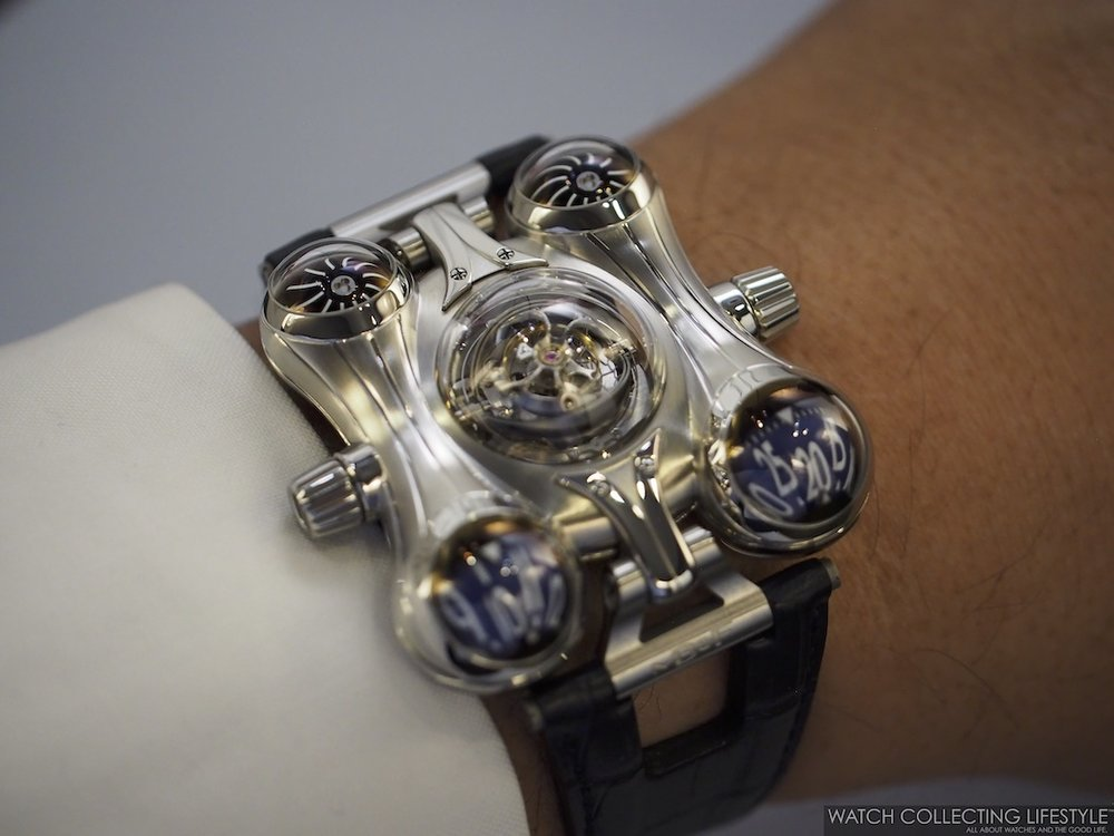 MB&F Horological Machine No. 6 Final Edition Wristshot WCL