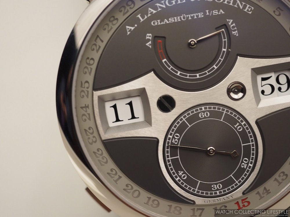 A. Lange & Söhne Zeitwerk Date WCL6