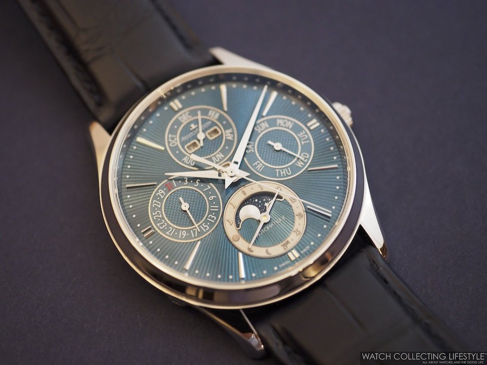 Jaeger-LeCoultre Master Ultra Thin Perpetual Enamel WCL