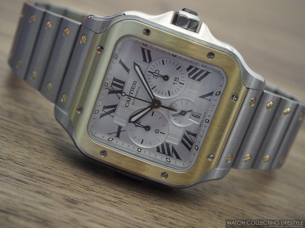 Santos de Cartier Chronograph WCL