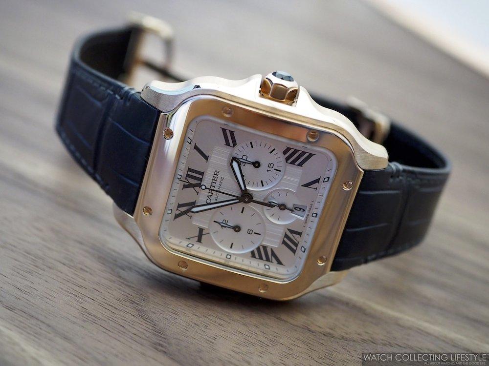 Santos de Cartier Chronograph WCL3