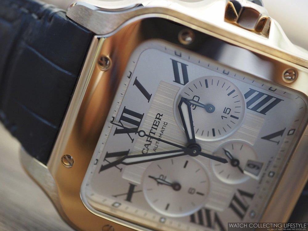 Santos de Cartier Chronograph WCL4