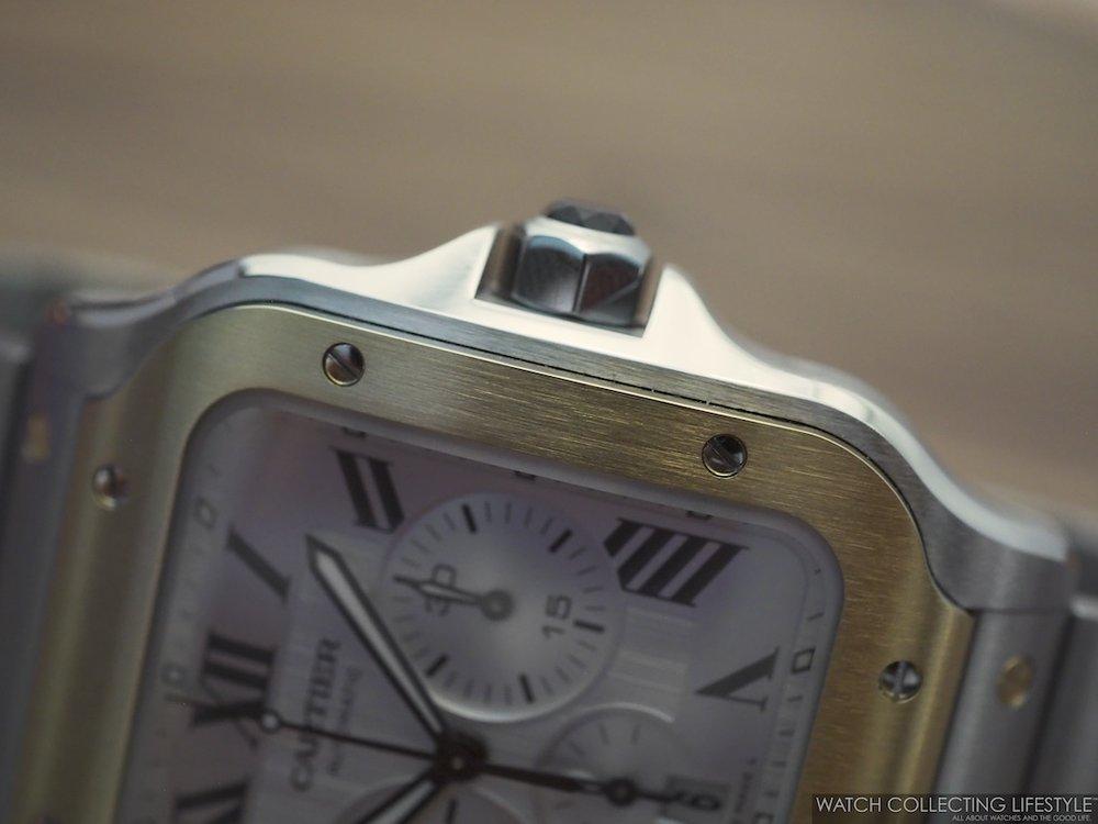 Santos de Cartier Chronograph WCL6