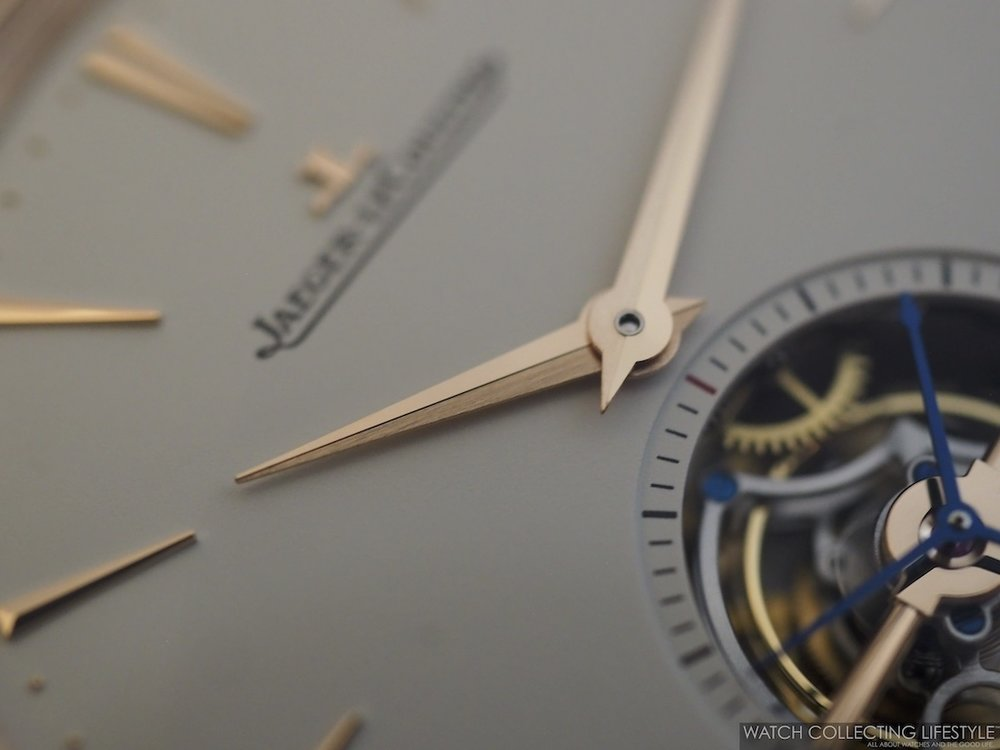 Jaeger-LeCoutlre Master Ultra Thin Tourbillon Hands