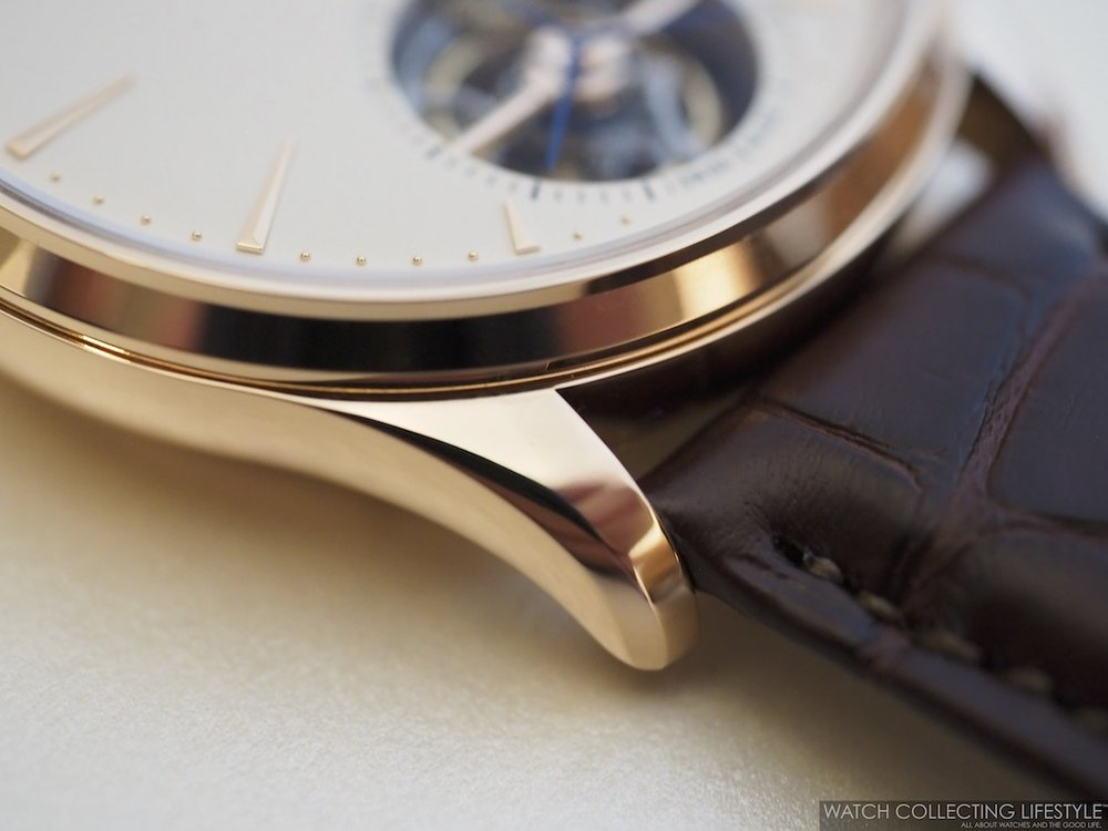 Jaeger-LeCoutlre Master Ultra Thin Tourbillon Pink Gold Case