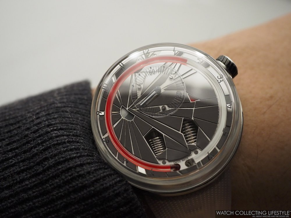 HYT H0 'Time is Precious' Edition Wristshot WCL