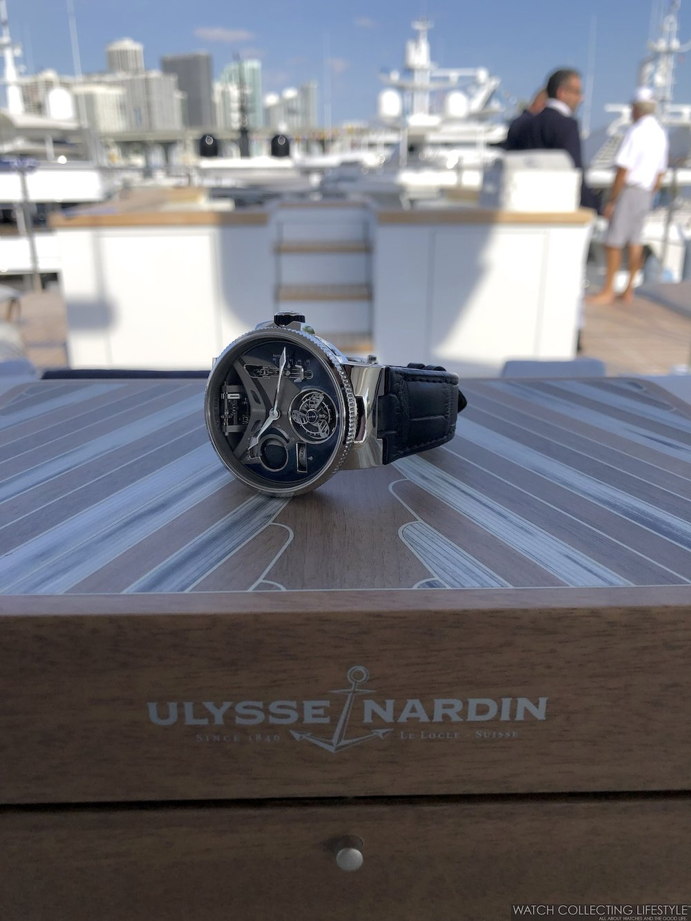 Ulysse Nardin Marine Mega Yacht Limited Edition