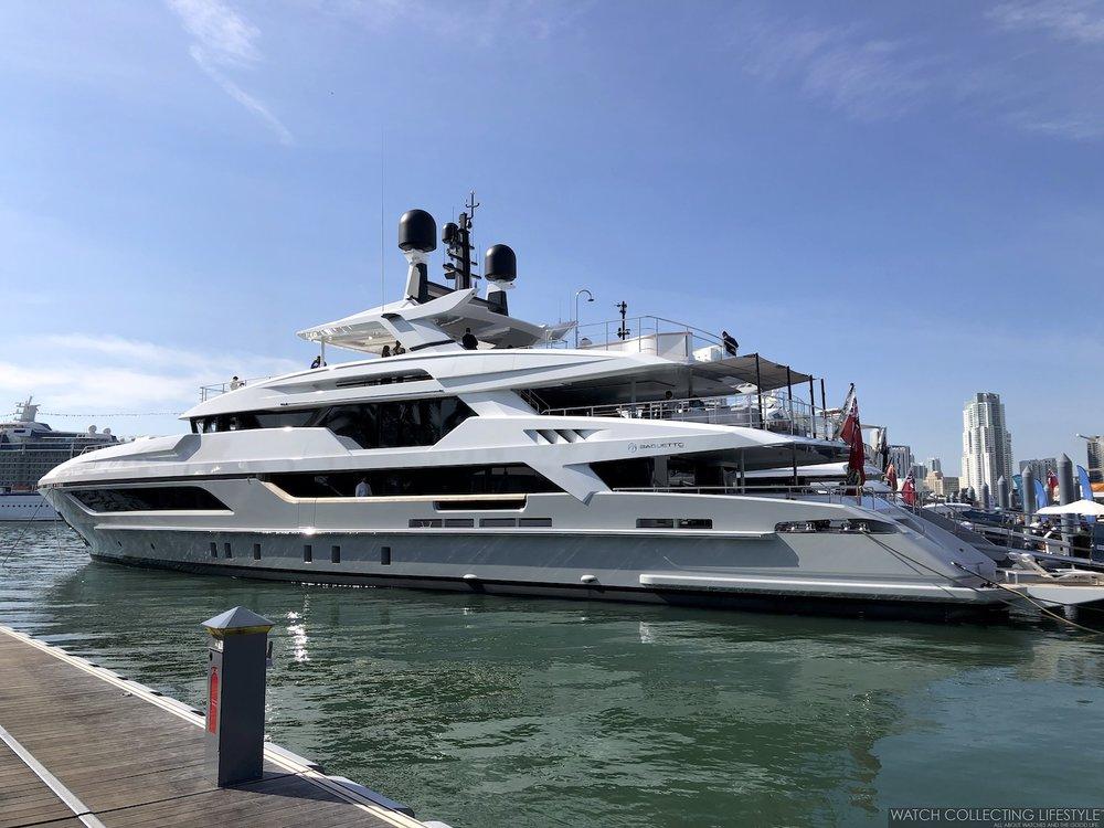 Baglietto Mega Yacht Ulysse Nardin Launch WCL