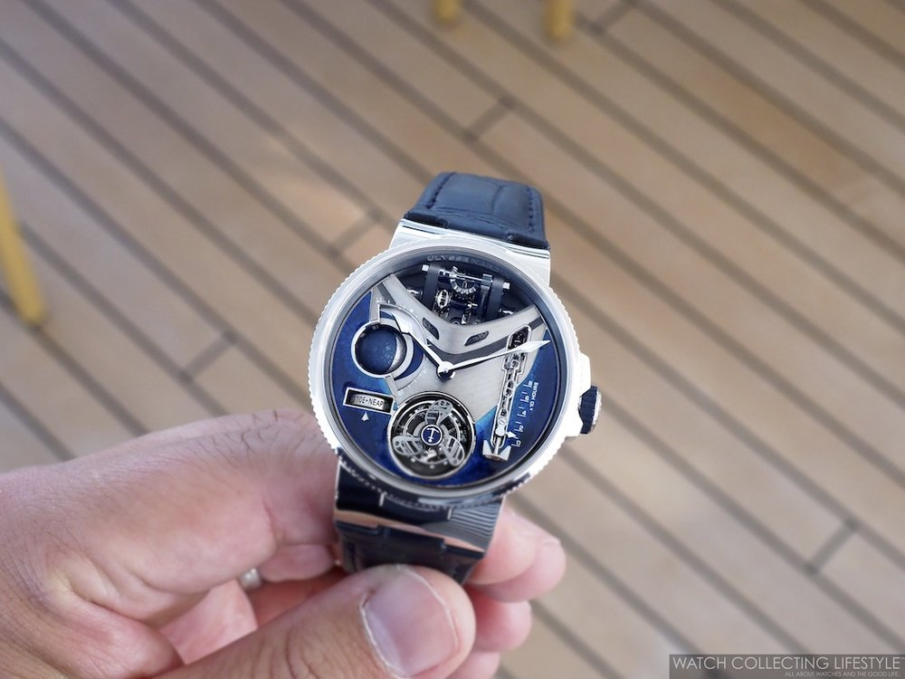 Ulysse Nardin Marine Mega Yacht Watch WCL2