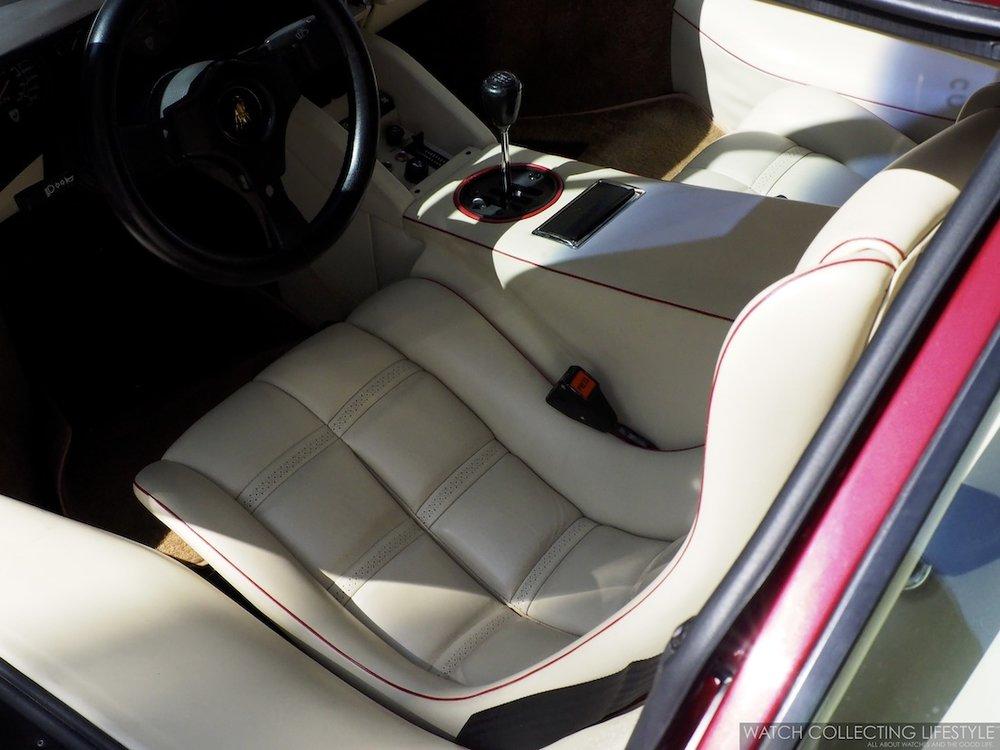 Lamborghini Countach Interior Watches Wonders Miami