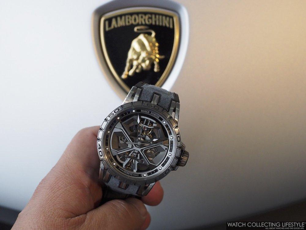 Roger Dubuis Huracan Performante and Lamborghini