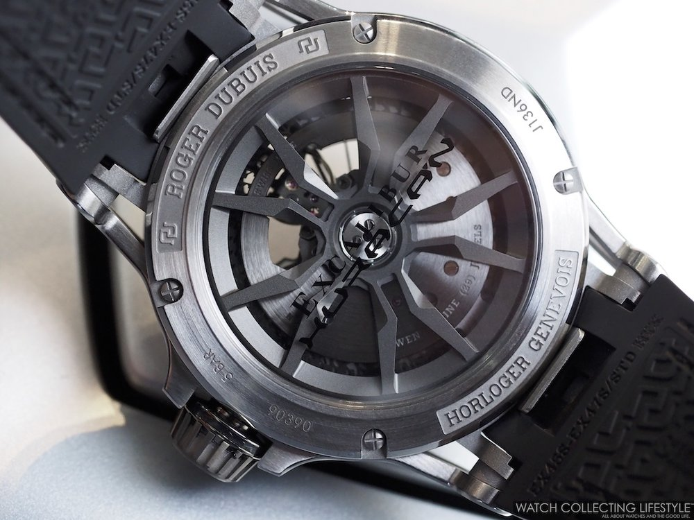 Roger Dubuis Huracan Performante Movement