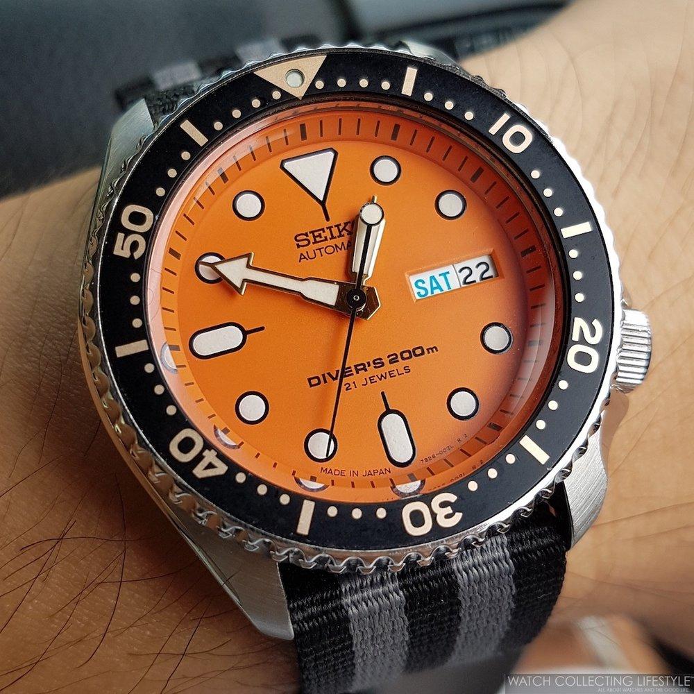 Seiko Diver SKX011J