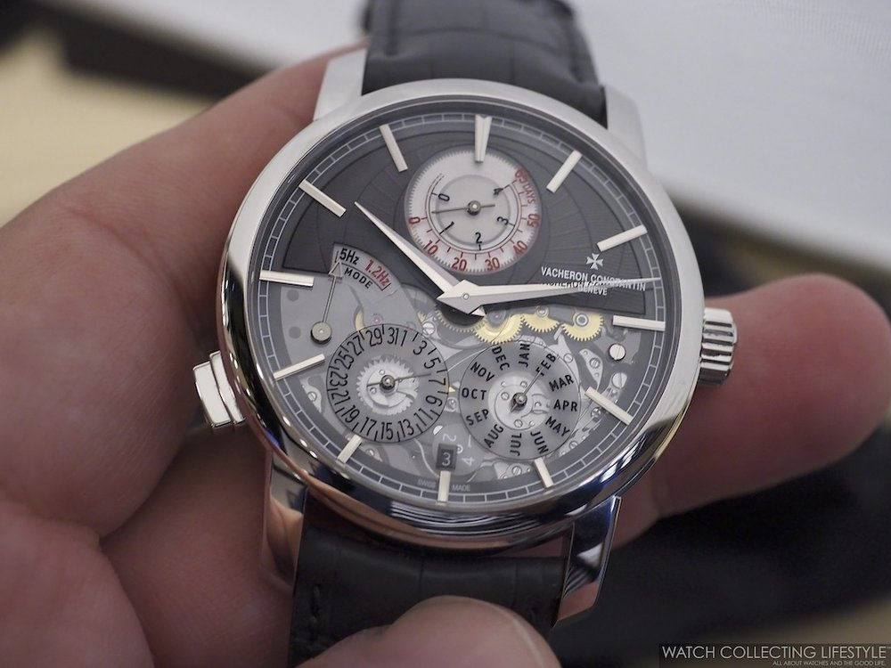 Vacheron Constantin Traditionnelle Twin Beat Perpetual Calendar Hands-on