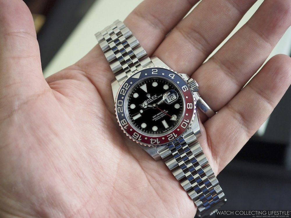Rolex GMT Master II ref. 126710 BLRO Hands-on Review WCL