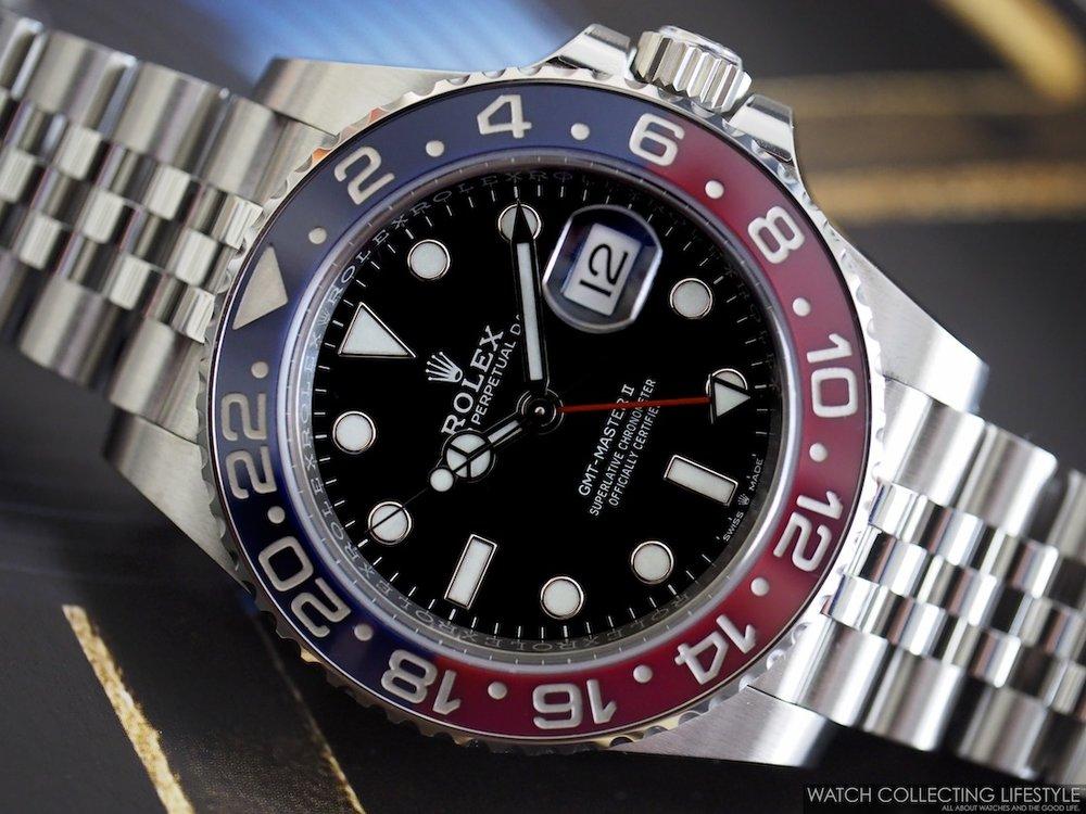 Rolex GMT Master II ref. 126710 BLRO Macro