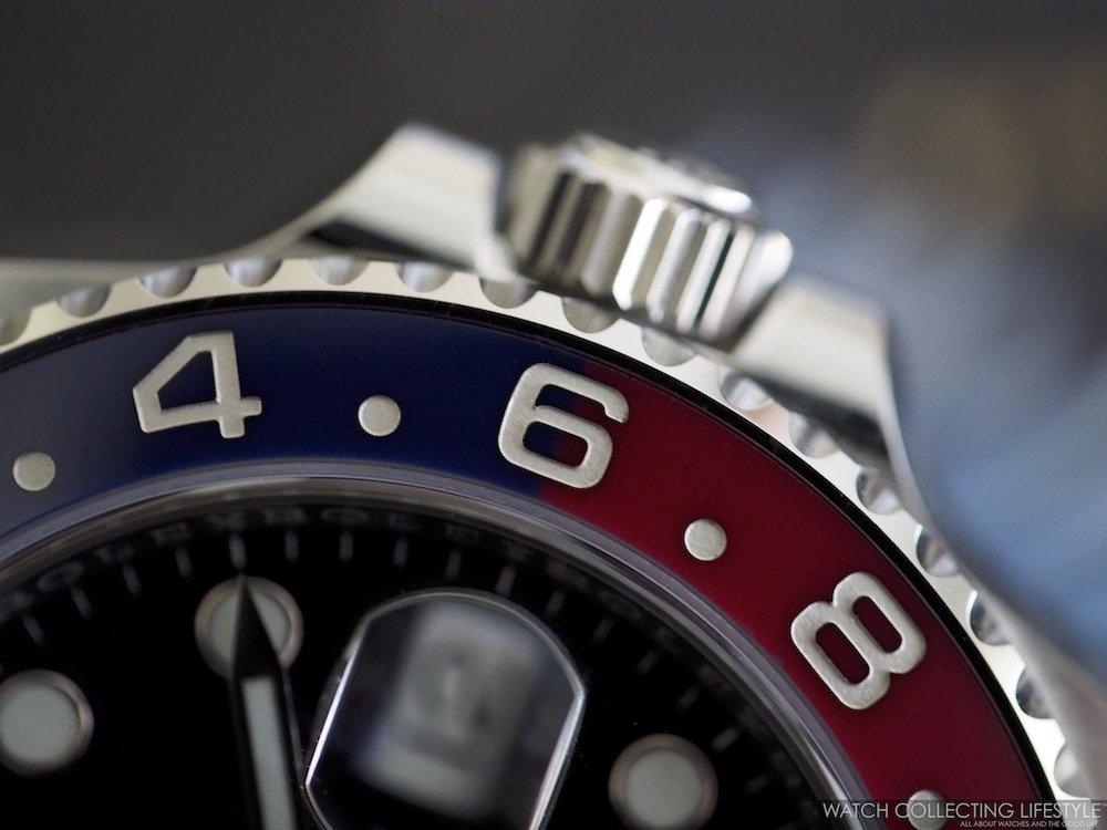 Rolex GMT Master II ref. 126710 BLRO Cerachrom Bezel