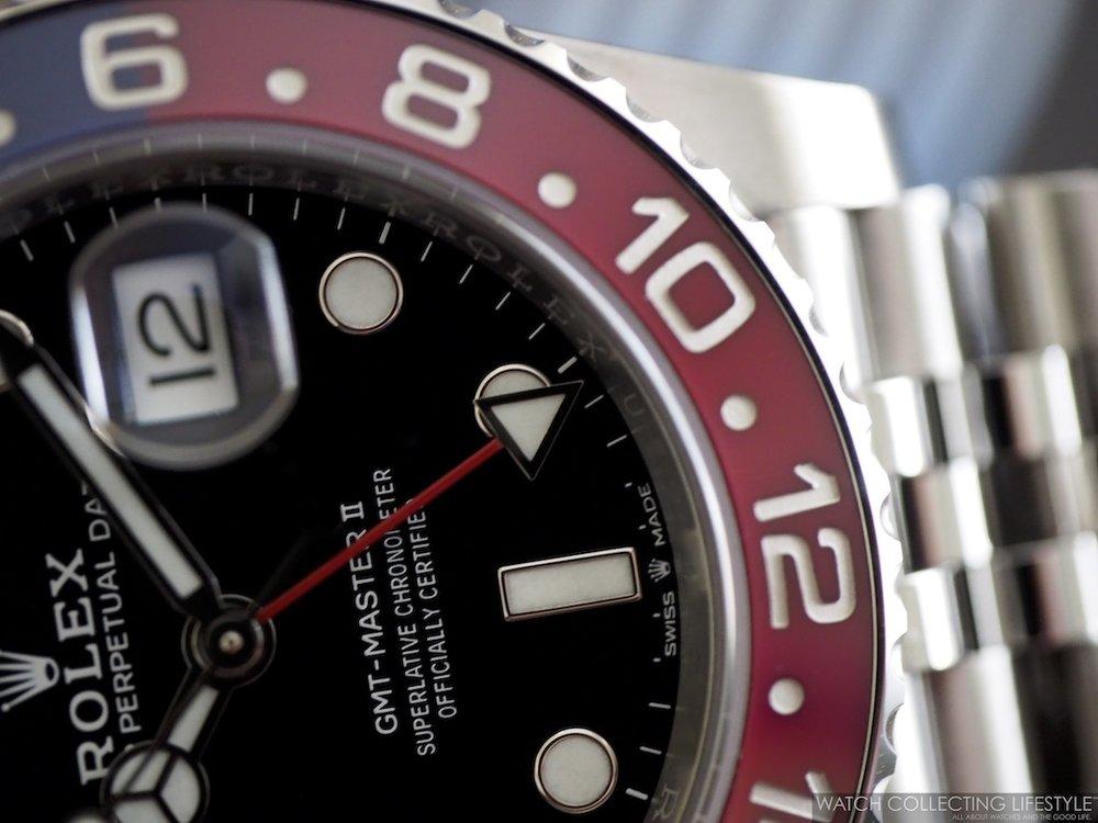 Rolex GMT Master II ref. 126710 BLRO Macro2