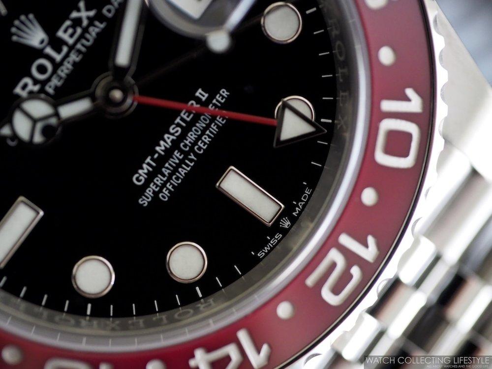 Rolex GMT Master II ref. 126710 BLRO Coronet