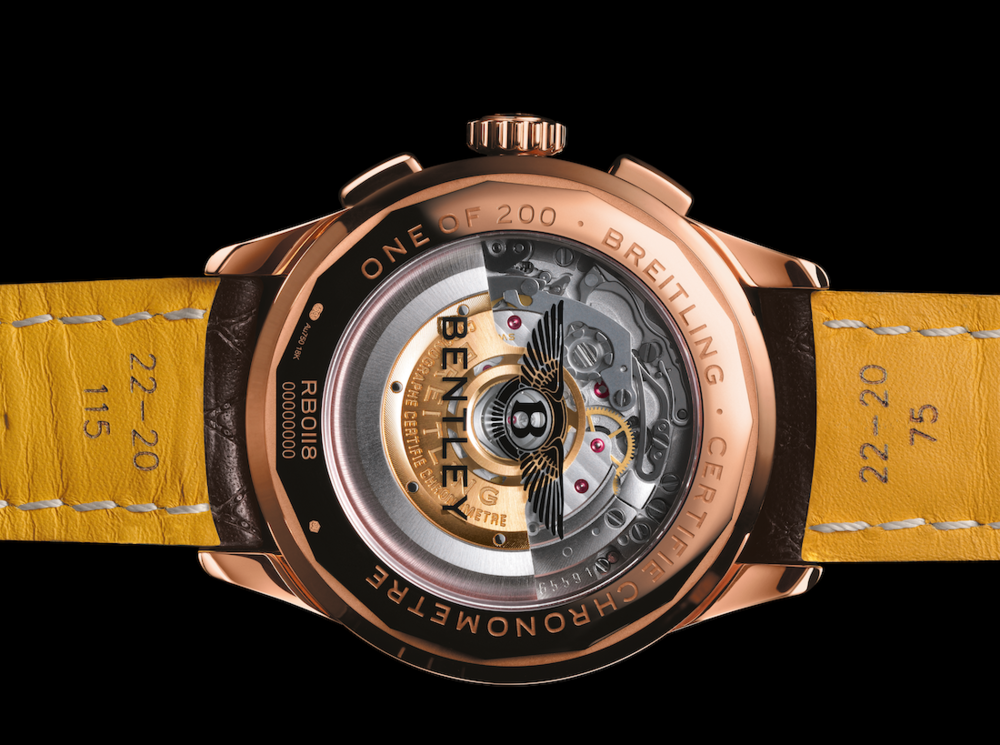 Breitling Premier Bentley Centenary Limited Edition WCL2